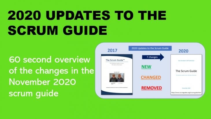 scrum guide changes